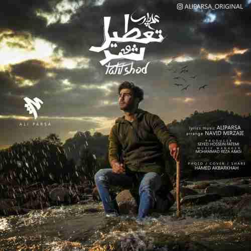 دانلود آهنگ جدید تعطیل شد از علی پارسا