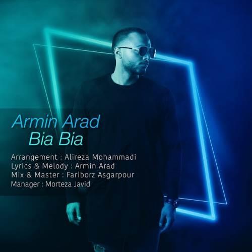 دانلود آهنگ جدید بیا بیا از آرمین آراد